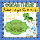 Ocean Theme Language Mats