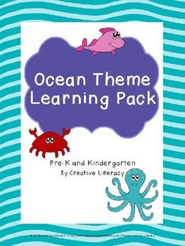 Ocean Theme Learning Pack