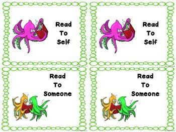 Ocean Literacy Center Signs