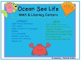 Ocean Theme Math & Literacy Pack (Common Core Aligned)