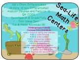 Ocean Theme Math Pack (Common Core Aligned)