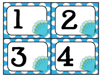 Ocean Theme Mega Math Pack ~ Number Recognition, Counting, Patterns & More!
