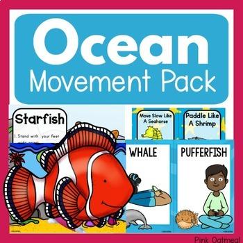Ocean Theme Movement Pack
