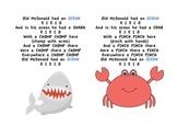 Ocean Theme Movement Song (Old MacDonald)