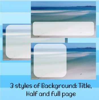 Ocean Theme PPT Backgrounds