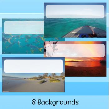 Ocean PPT Backgrounds
