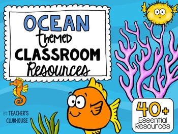 Ocean Theme Decor Pack