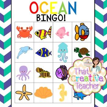 Ocean Theme Pack - Math, Literacy & Art Resources