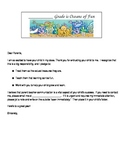 Ocean Theme Parent Packet for Back to School Night