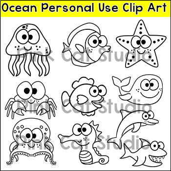 Ocean Theme Personal Use Art