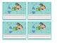Ocean Theme Picture Cards for Attendance, Lunch Count and More!