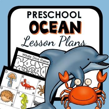 Ocean Theme Preschool Classroom Lesson Plans