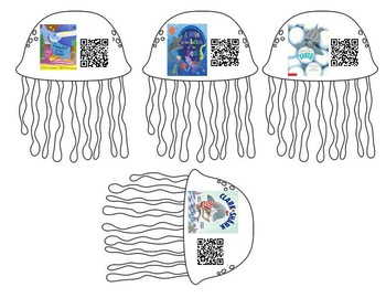 Ocean Theme QR Read Alouds