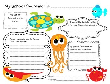 Ocean Theme School Counselor