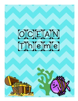 Ocean Theme Setting up your classroom