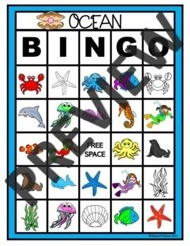 Preschool Speech Therapy: Ocean Language Activities by A ...