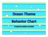 Ocean Theme Sticker Chart