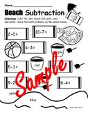 Ocean Theme Subtraction