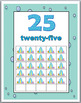 Ocean Theme Classroom Decor Ten Frames Number Posters 1-30