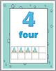Ocean Theme Classroom Decor Ten Frames Number Posters 1-30