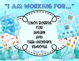 Ocean Theme Token Board for Autism and Task-Avoidant Students