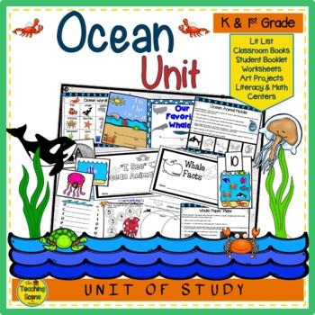 Ocean Theme:  Literacy Unit