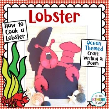 Ocean Crafts: Lobster Crafts: Summer Crafts