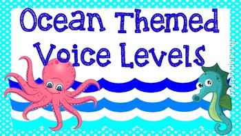 Ocean Theme Voice Levels