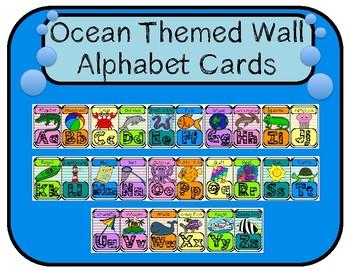 Ocean Theme Wall Alphabet