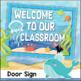 Ocean Theme Welcome Banner, Pennants and Door Sign