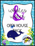 Ocean Theme Whales & Water Open House Pack