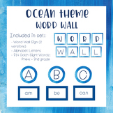 Ocean Theme - Word Wall