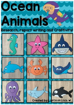 Ocean Theme Writing and Craftivity