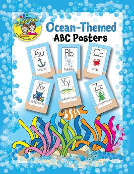 Ocean-Themed ABC Posters