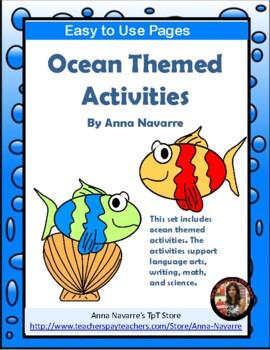 Ocean Themed Activities