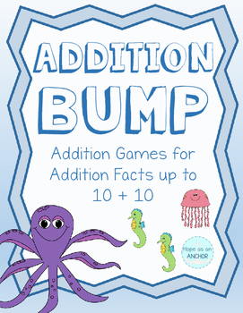 Ocean Themed Addition Bump (up to 10+10)