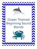 Ocean Themed Beginning Sound Blends