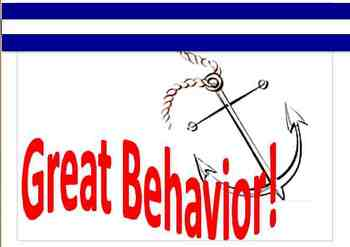 Ocean Themed Behavior Board