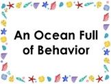 Ocean Themed Behavior Clip Chart