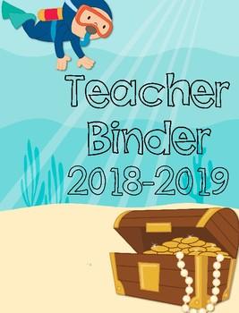 Ocean Themed Binder for Teachers