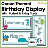 Ocean Themed Birthday Display