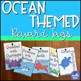 Ocean Themed Reward Tags