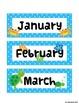 Ocean Themed Calendar Set