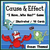 Cause and Effect Activity {Speaking & Listening I Have, Who Has Game}