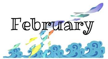 Ocean Themed Class Birthday Signs