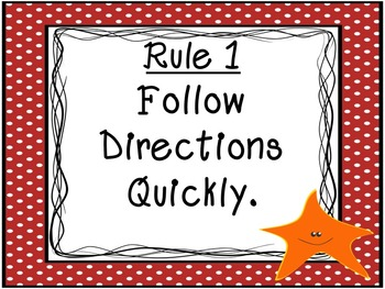 Ocean Themed Class Rules