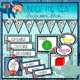 Ocean Themed Classroom Decor