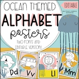 Ocean Themed Classroom Decor Alphabet Classroom Posters wi