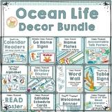 Ocean Themed Classroom Decor Bundle