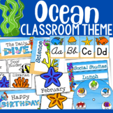 Ocean Theme: Classroom Decor (BUNDLE)